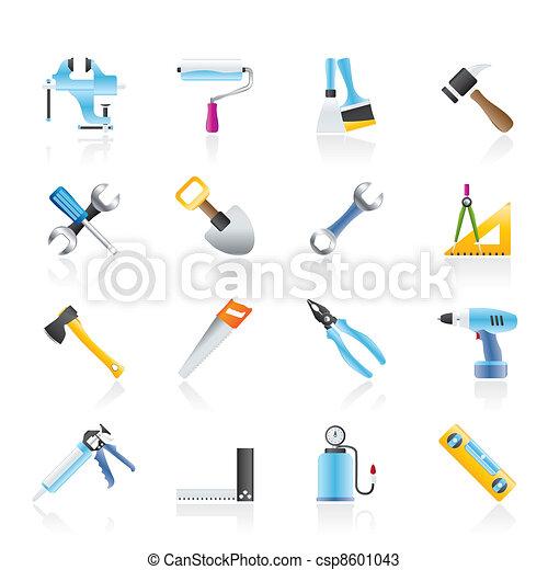 建築物, 工具, 建設, 工作 - csp8601043