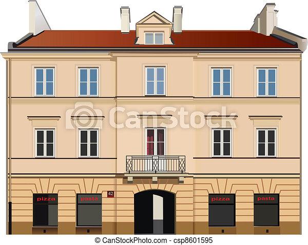 Building facade - csp8601595