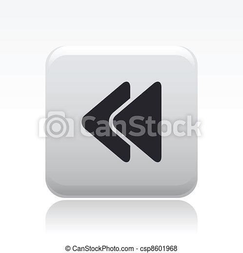 Vector illustration of single isolated audio icon - csp8601968