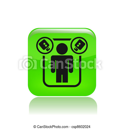 Vector illustration of single isolated spy icon - csp8602024