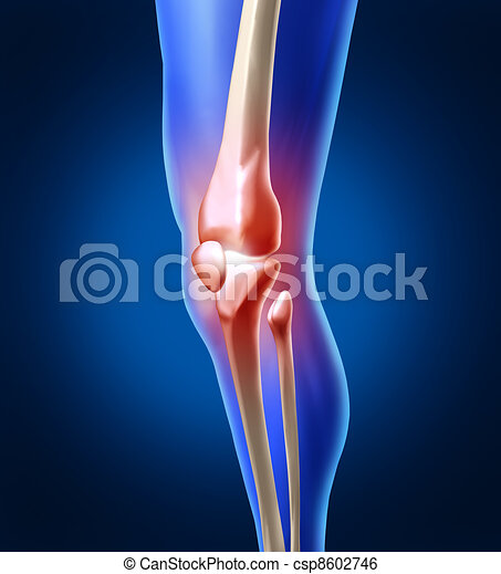 Human Knee Pain - csp8602746