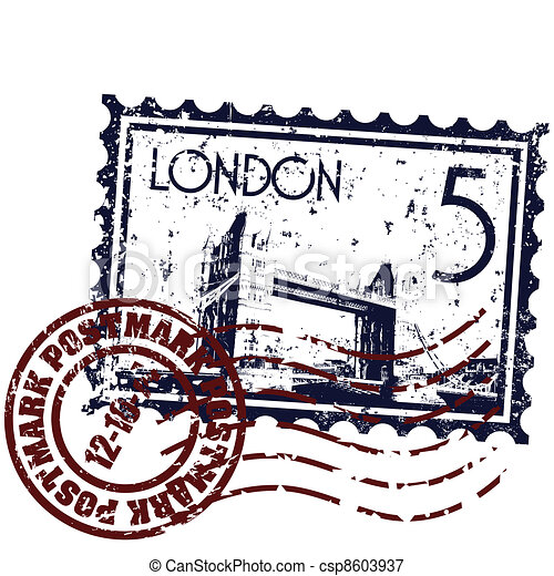 Vector illustration of single isolated London icon - csp8603937