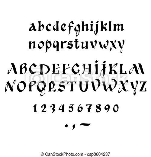 calligraphy - csp8604237
