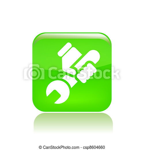 Vector illustration of single isolated diy icon  - csp8604660