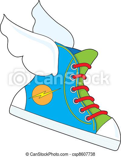 Flying Sneaker - csp8607738
