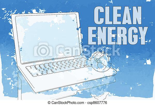 Clean Energy - csp8607776