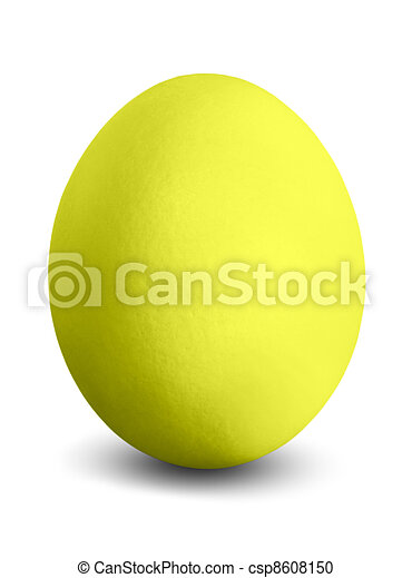 yellow easter egg - csp8608150