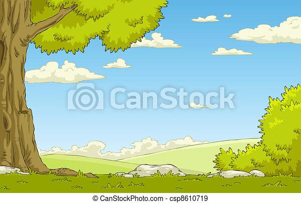 Landscape - csp8610719