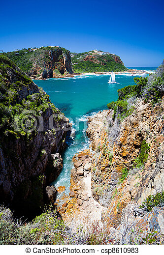 landscape of Knysna, South Africa - csp8610983