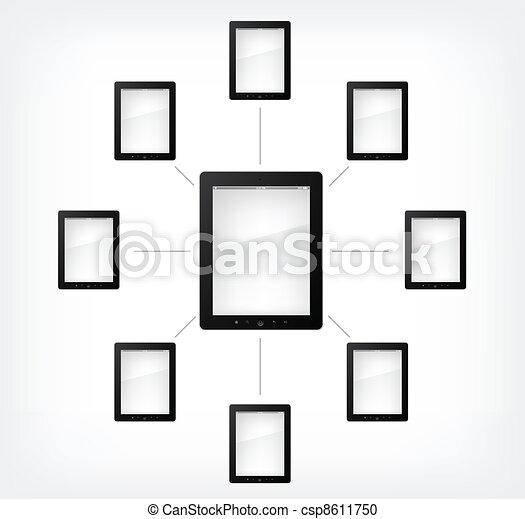 Set of Tablet PC - csp8611750