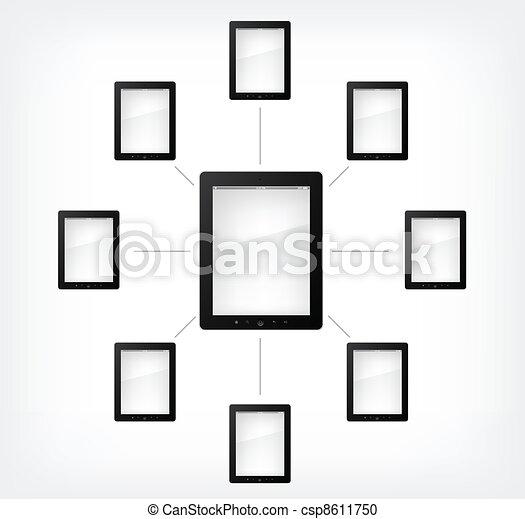Set of Tablet PC - csp8611750