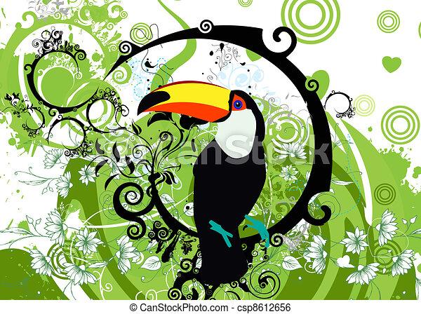 parrots - csp8612656