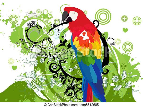 parrots - csp8612685