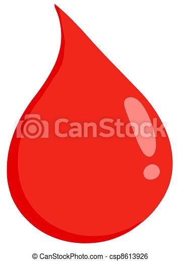 Blood Drop - csp8613926