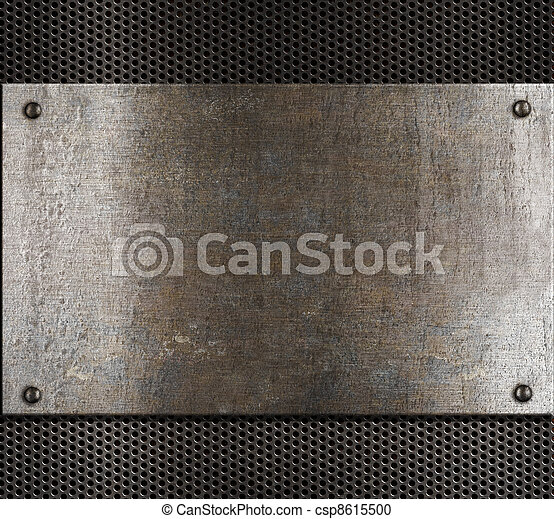 old metal background - csp8615500