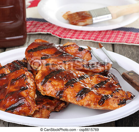 Barbeque Chicken Meal - csp8615769