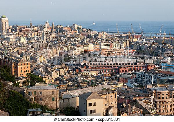 Genoa City  - csp8615801