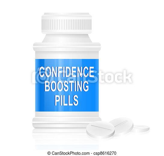Confidence concept. - csp8616270