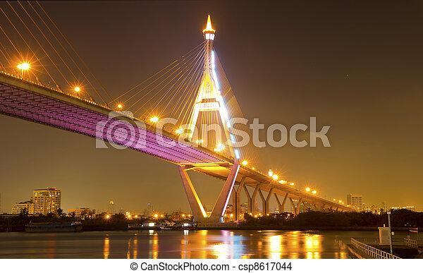Archivi fotografici di bhumibol ponte bhumibol ponte for Piani di progettazione di ponti gratuiti