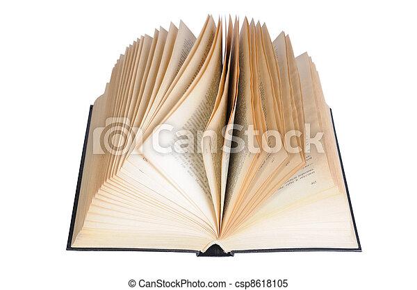 Open Book - csp8618105