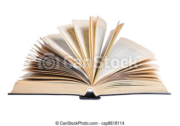 Open Book - csp8618114