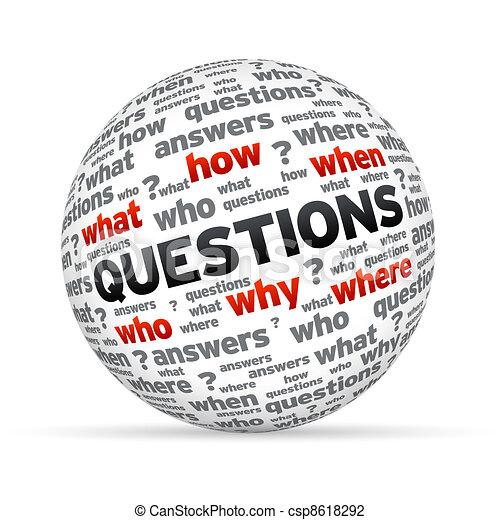 Questions Sphere - csp8618292