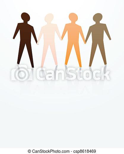 men are equal - csp8618469