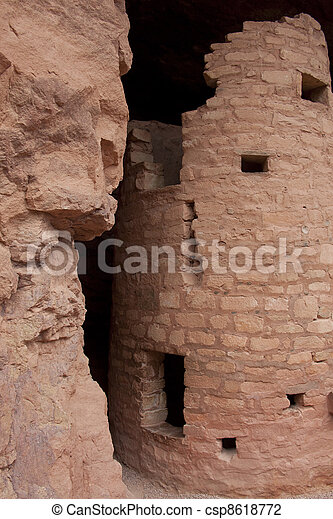 Cliff Dwelling - csp8618772