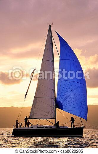 Sail boat  - csp8620205