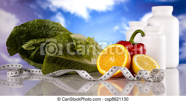 Weight loss, fitnes - csp8621130