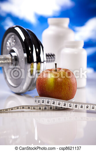 Weight loss, fitness - csp8621137