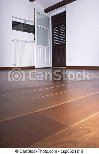 room with hardwood floors - csp8621219