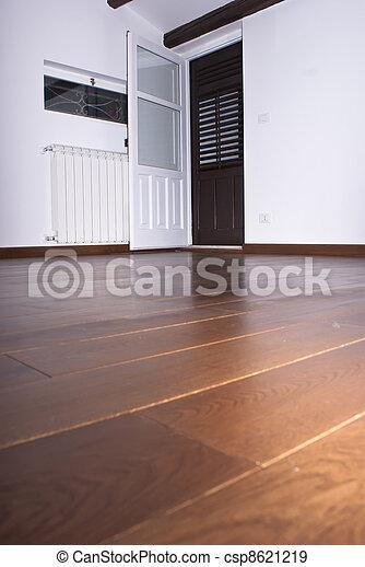 room with hardwood floors - csp8621219