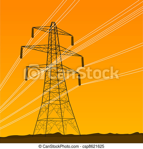 Electrical Tower - csp8621625