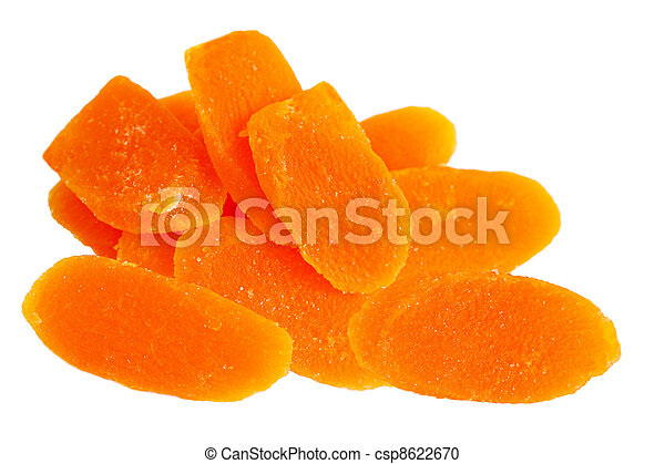 Dried Mango Slices - csp8622670