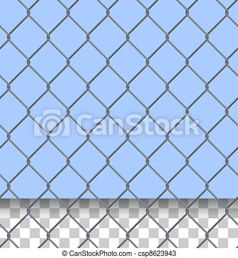 Security Fence Pattern - csp8623943