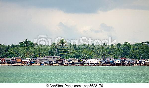 Fishery Village - csp8628176