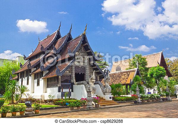 Church of Wat J-D-Luang,Chiang Mai,Thailand - csp8629288