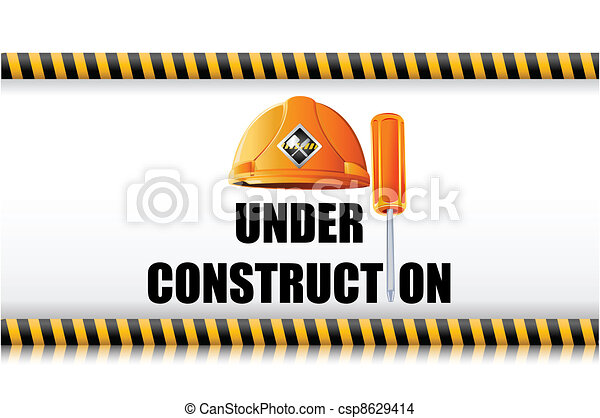 Hard Hat with Screw Driver - csp8629414