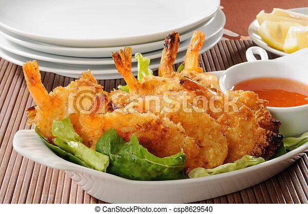 Shrimp appetizer - csp8629540