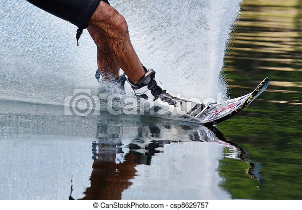 Water Sports - Water Skiing - csp8629757