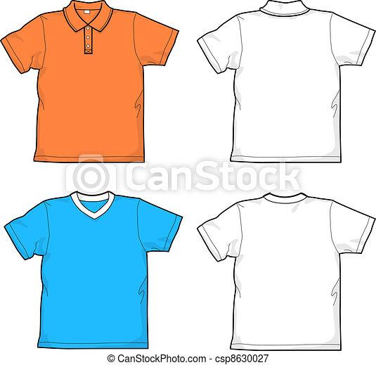 Vetor   Camisas   Estoque De Ilustra    O  Ilustra    Es Royalty Free