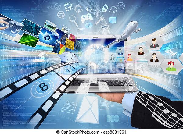 Internet Laptop - csp8631361