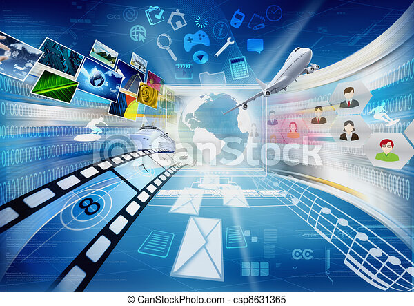 Internet and Multimedia Sharing - csp8631365