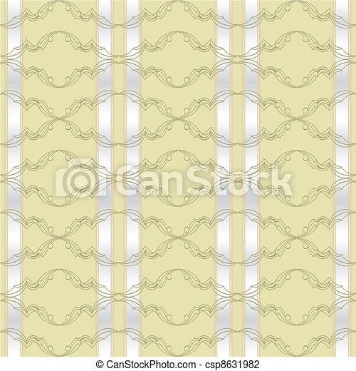 Abstract flora design element. - csp8631982