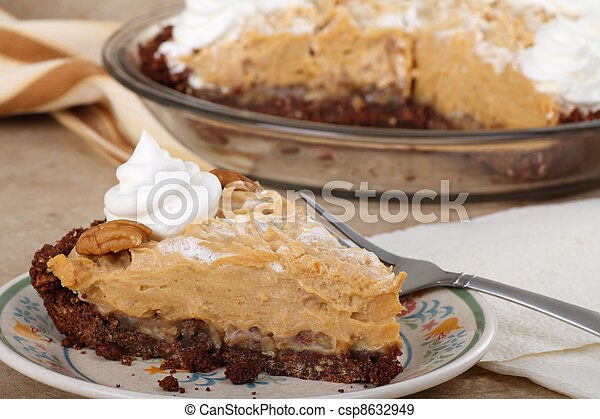 Peanut Butter Pie - csp8632949