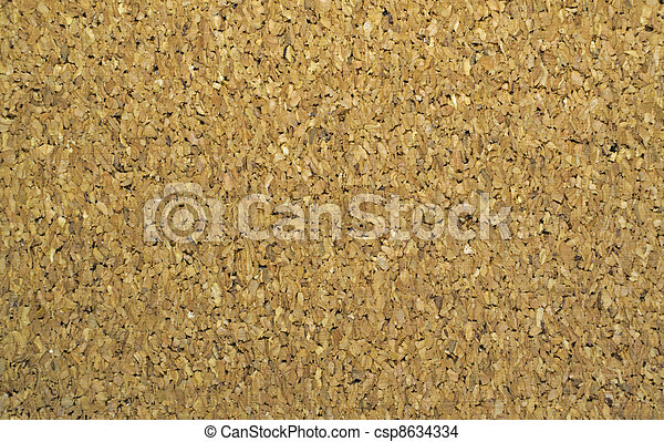 Noticeboard cork background - csp8634334
