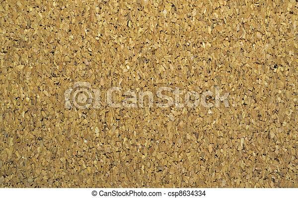Noticeboard cork background - csp8634334