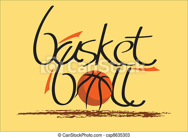 basketball logo - csp8635303