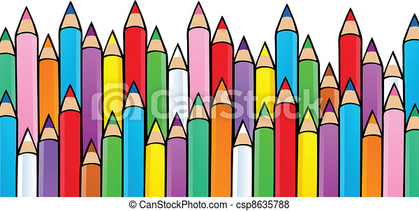 Various crayons image 1 - csp8635788